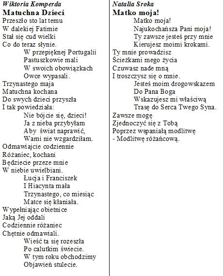 Wiersze Publiczna Szkoła Podstawowa Nr 2 Spsk W Starym